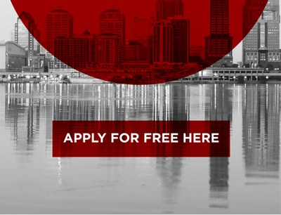Apply for free here graphic