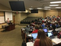 2016 Brandeis Law grad returns to the classroom—as a guest speaker
