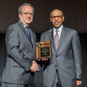 Brandeis alum J. Michael Brown receives Nelson Mandela Award