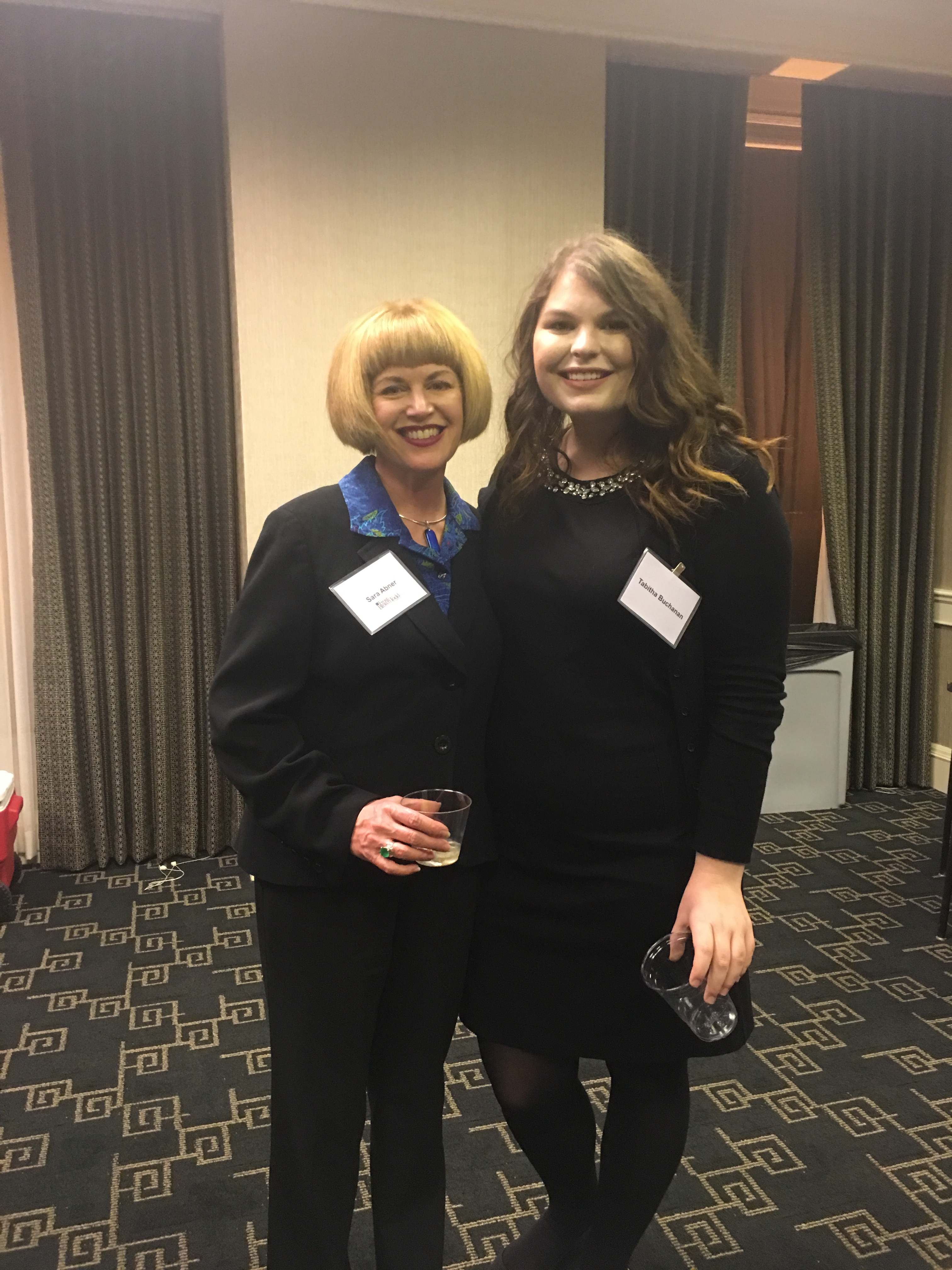 Brandeis Law students mingle with local legal professionals
