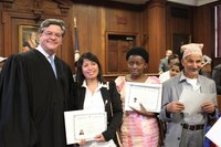 Brandeis Law welcomes 35 new citizens at naturalization ceremony