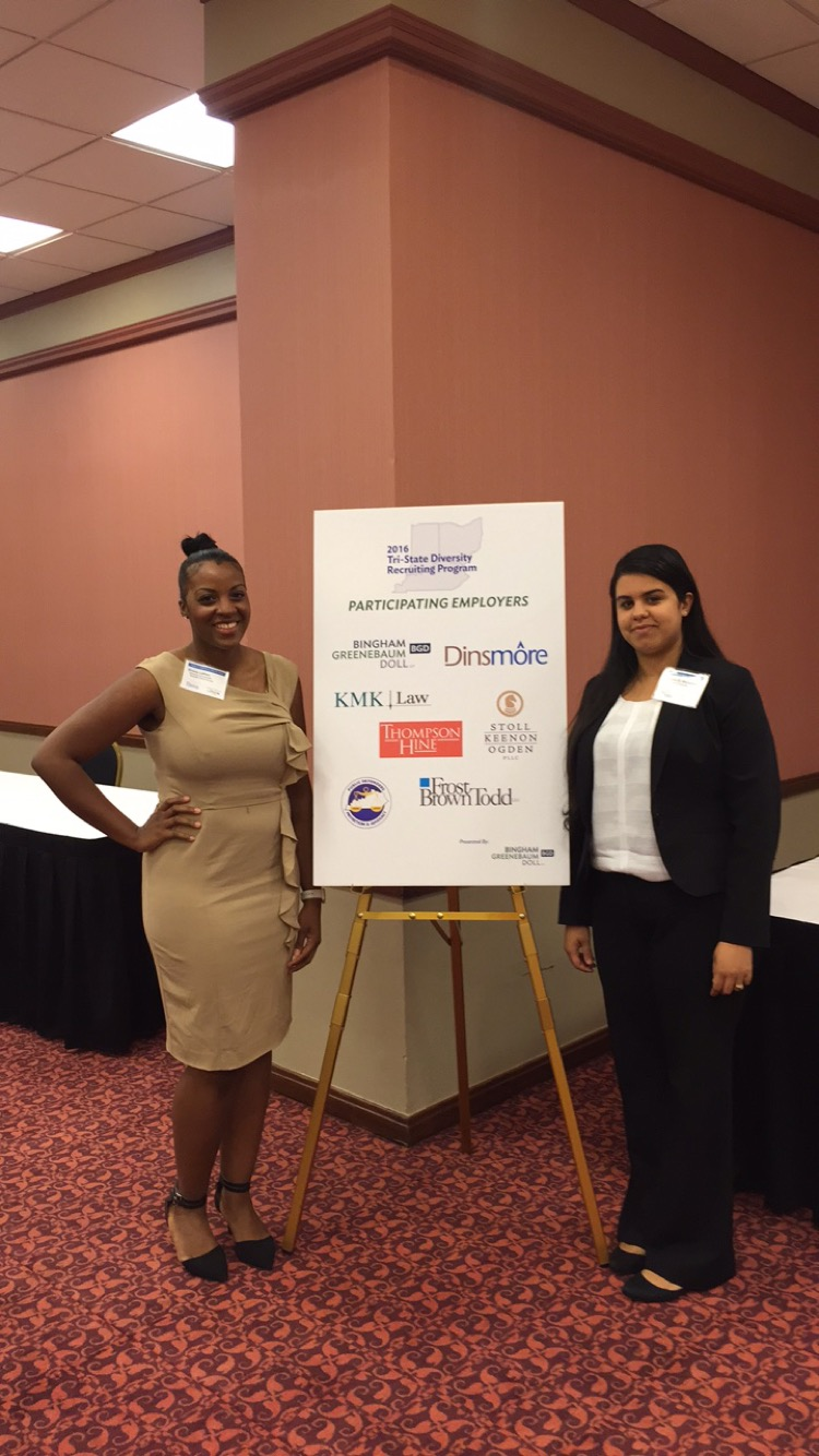 Brandeis students attend diversity recruiting program
