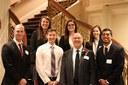Professor Tony Arnold with students