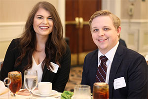 law students at 2018 Law Alumni Awards