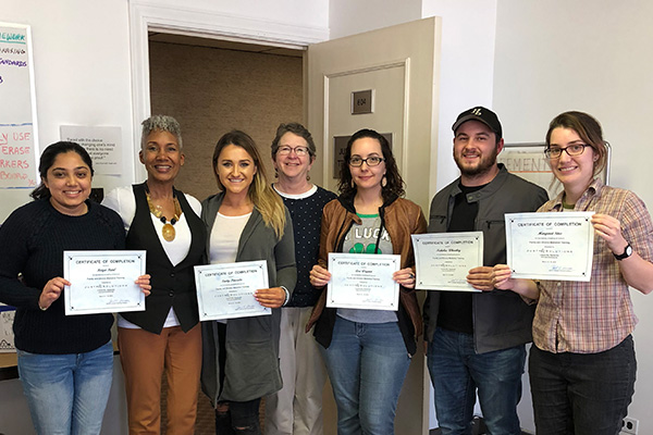 Brandeis Law students complete mediation training