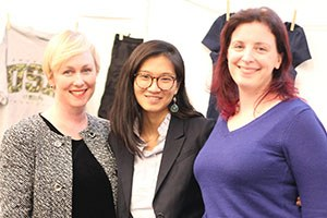 Gretchen Hunt, Sue Eng Ly, JoAnne Sweeny