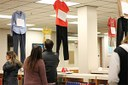 What Were You Wearing display in Law Library