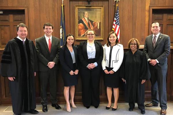 1L Oral Arguments - Judges and Students