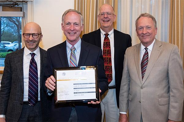 Les Abramson Faculty Services Awards 2018