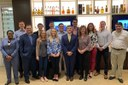 Lisa Nicholson and M&A students visit Brown-Forman