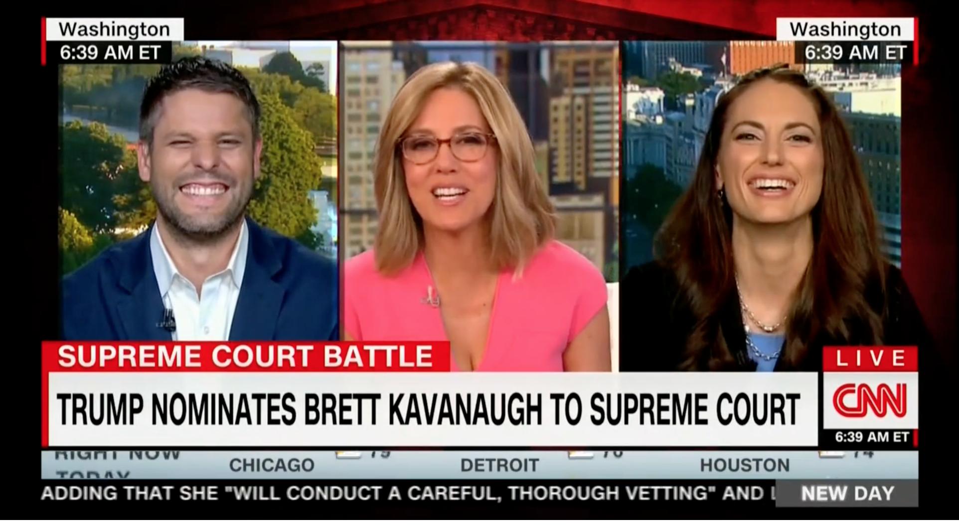 Justin Walker on CNN