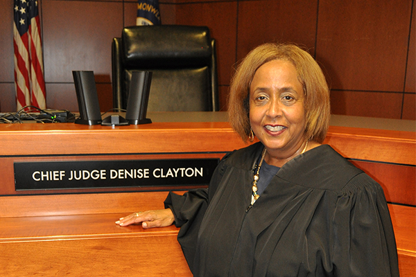 Chief Judge Denise Clayton