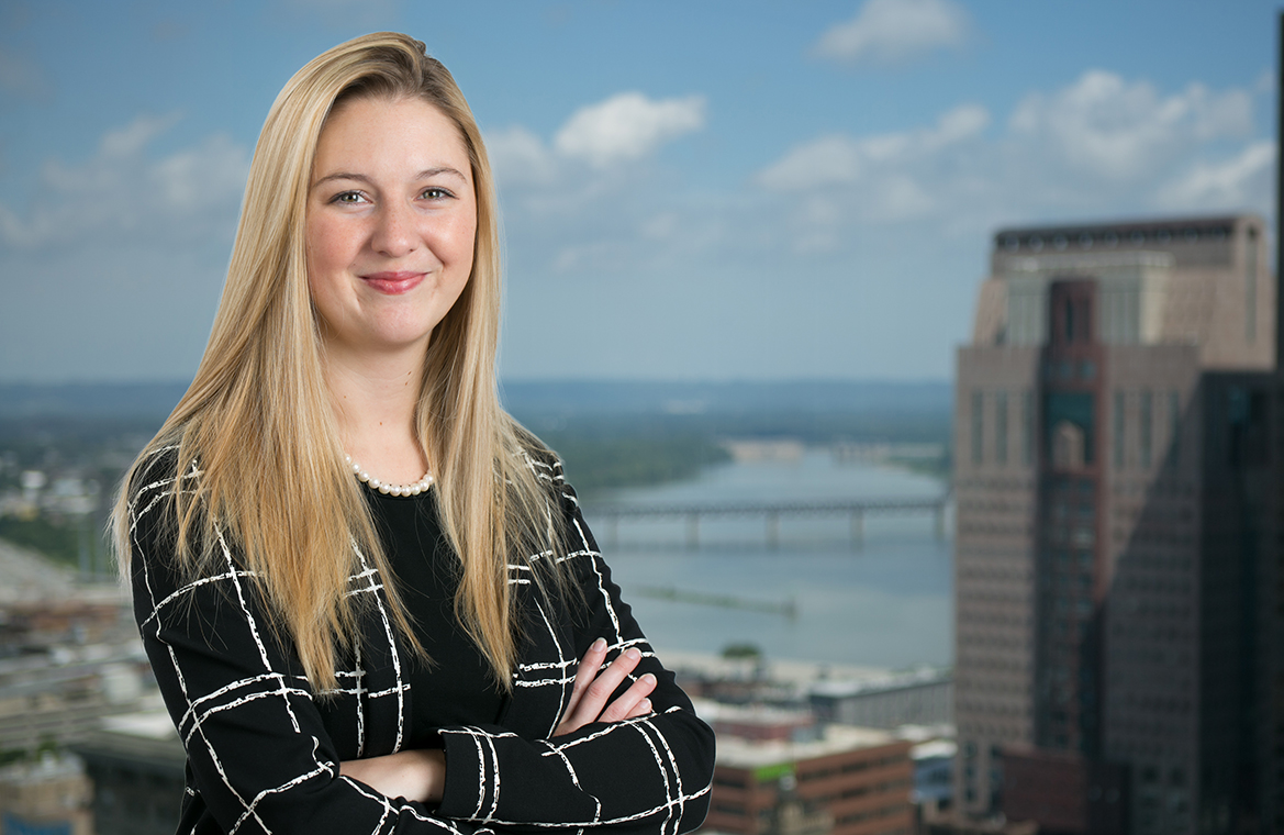 Kylie Hoffman ('15) joins Iocal firm's IP practice group