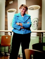 Lucy Helm ('82) named to top HR post at Starbucks