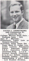 Mourning the death of Dave Armstrong, Louisville mayor and Brandeis Law alum