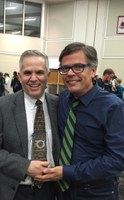 Professor Marcosson receives Ally Award from LGBT Center