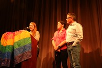 Alternative Thanksgiving and LGBT Student Leadership Award