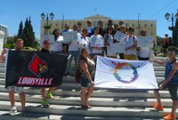 LGBT Study Abroad Participants Support Young Activists in Greece