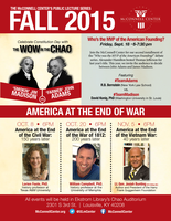 Lecture series considers key U.S. founders, America at end of war