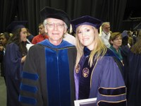 Gaines earns doctorate in political science