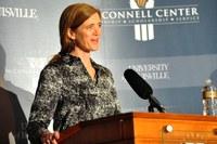 Ambassador becomes 47th distinguished guest speaker at McConnell Center
