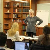 Archivist celebrates 40 years in profession