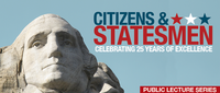 Center kicks-off 25th anniversary with series on 'Citizens & Statesmen'