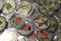 Center receives $16,000 for military challenge coin project