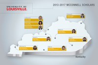 Center welcomes 9 new McConnell Scholars