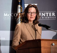 CIA director, UofL alum outlines priorities