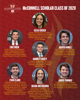 McConnell Scholars graduate with top awards