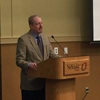 Gregg delivers Kent Kirwan lecture at University of Nebraska Omaha