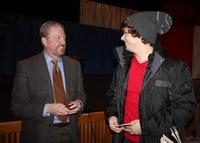 Gregg leads civic symposium at alma mater