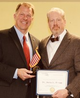 Gregg receives national 'George Washington Medal'