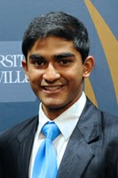 Haque ('15) named SGA student of the month