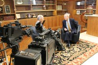 KET's Goodman interviews McConnell in Center's archives