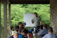 Alumnus shares civic-mindedness with Boy Scouts