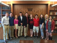 McConnell Scholars conclude journey through Dante's Hell