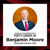 Moore ('06) named to Louisville Business First's 'Forty Under 40' list