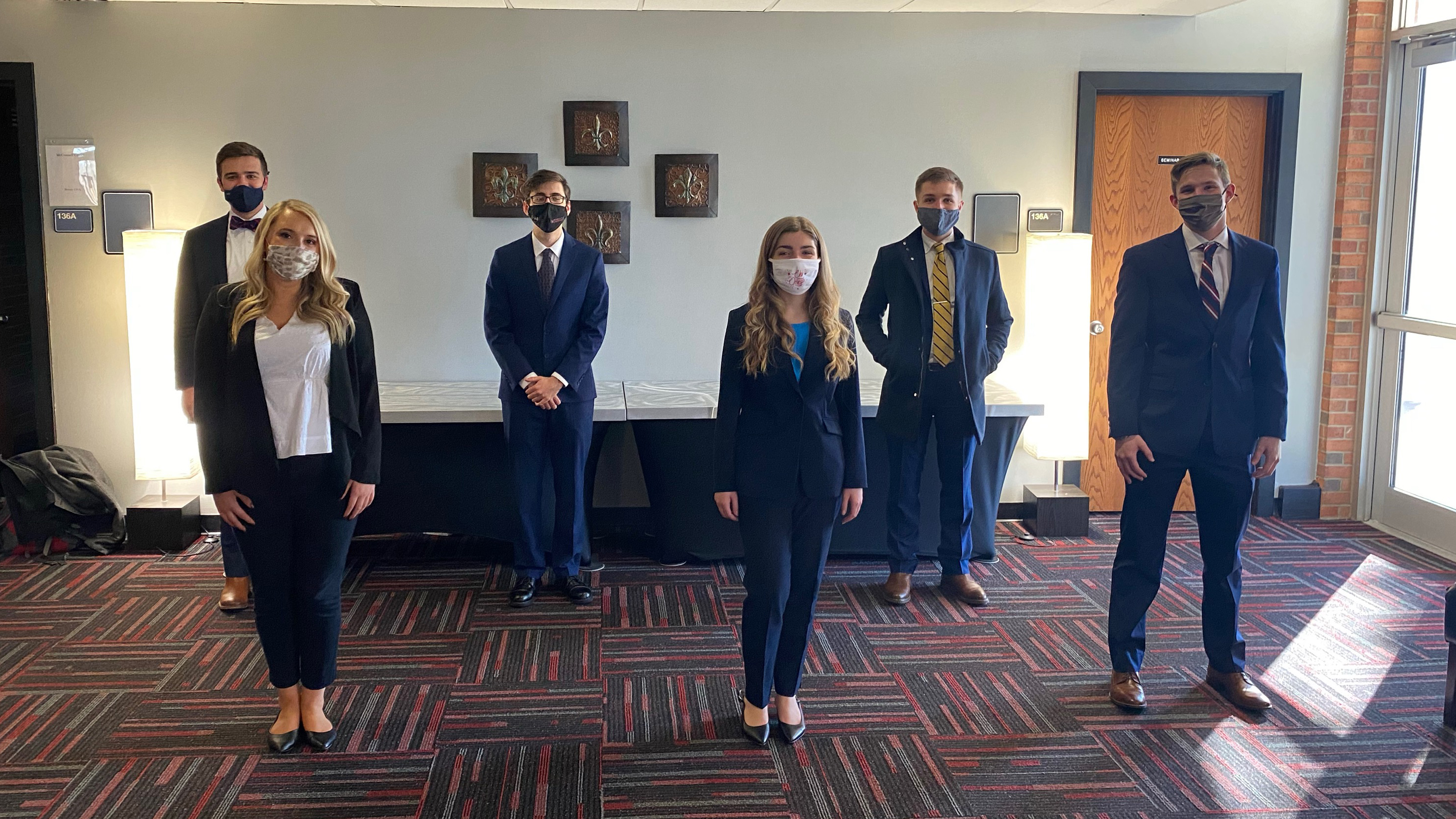 Moot court teams finish among top 28 in region