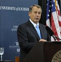 Politicians must seek 'common ground,' Boehner says