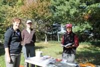 Scholar volunteers at local food farm