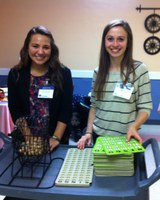 Smith, Young host 'family nights' for local nursing home