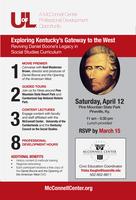 Teachers to help revive Daniel Boone's legacy in social studies curriculum