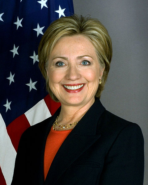 U.S. Secretary of State Hillary Clinton to visit