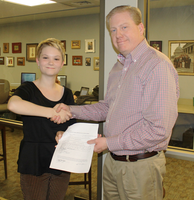 Waters ('14) successfully defends honors thesis
