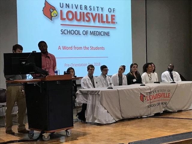 Pre-Orientation Student Panel