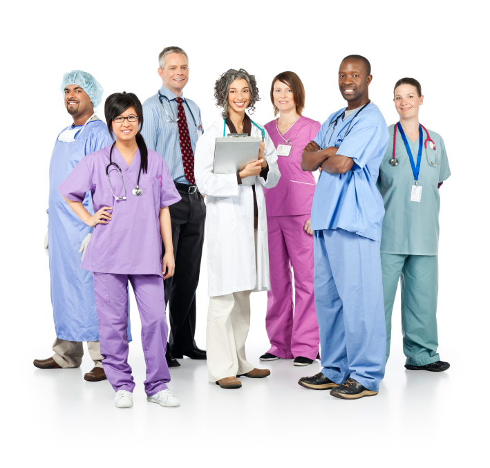 Group picture of Healthcare Professionals
