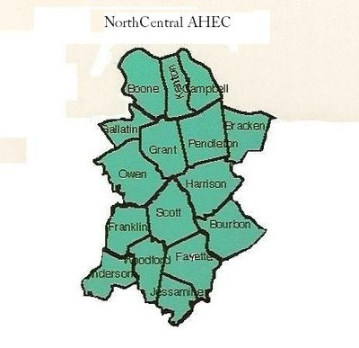 NorthCentral AHEC Counties