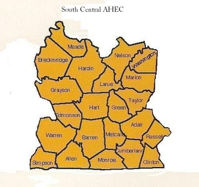 SouthCentral AHEC Counties